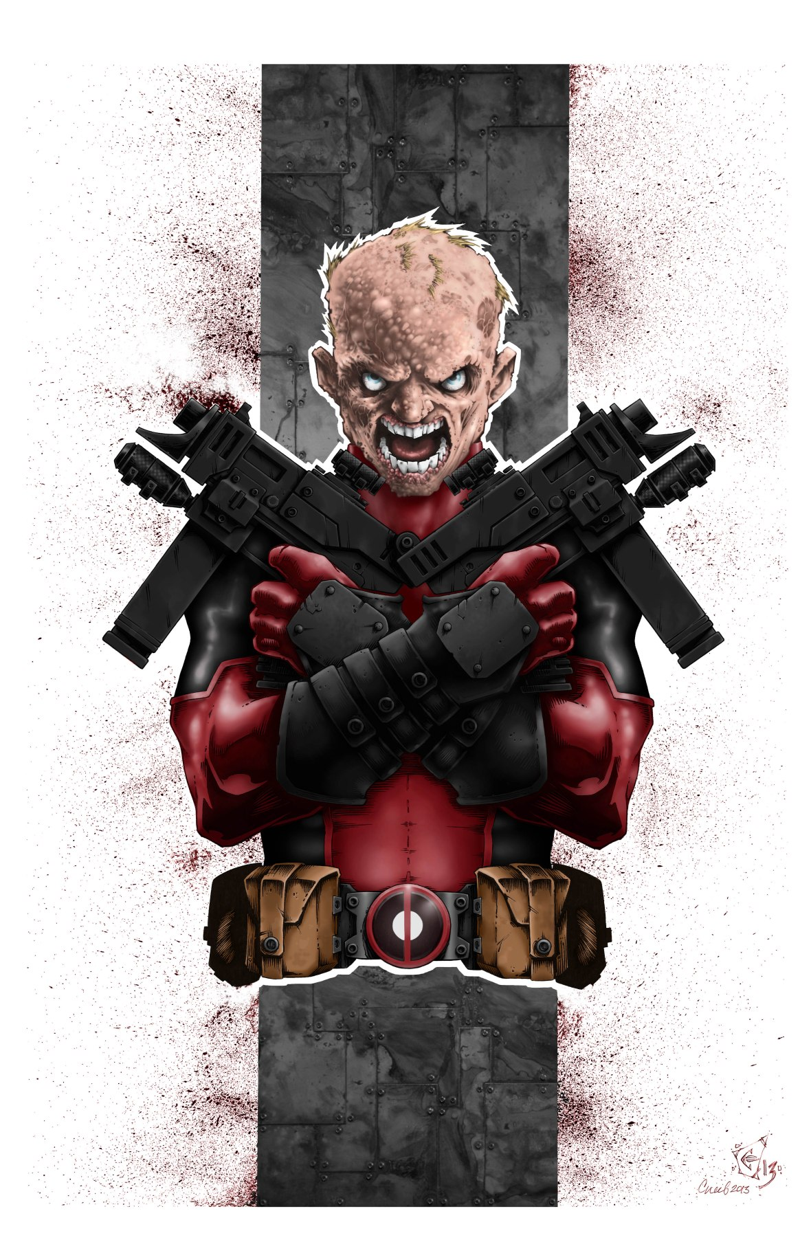 Deadpool Unmasked COLOR Print FINAL - Reduced